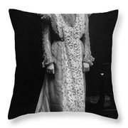 Minnie Maddern Fiske Throw Pillow