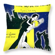 Minnie The Moocher Throw Pillow