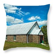 Miracle Revival Center Throw Pillow
