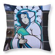 Miraculous Canception Throw Pillow