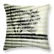 Mirages Wind Throw Pillow by Empty Wall