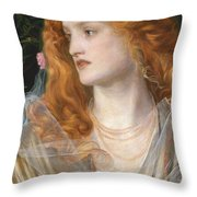 Miranda Throw Pillow by AFA Sandys