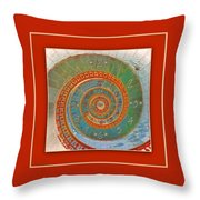 Mirror Of Life Throw Pillow