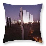 Mirror-winged Solar Panels Convert Throw Pillow