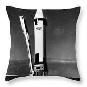 Missile Test, 1960 Throw Pillow