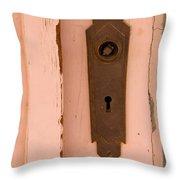 Missing A Knob Throw Pillow