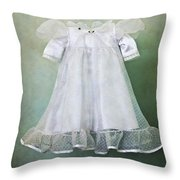 Missing Child Throw Pillow by Margie Hurwich