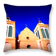 Mission Church Silver City Nm Throw Pillow