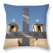 Mission Of San Francisco Throw Pillow