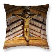 Mission San Antonio De Padua 2 Throw Pillow