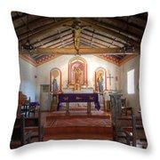 Mission San Antonio De Padua 3 Throw Pillow