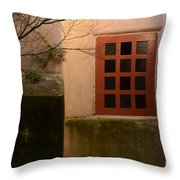 Mission San Carlos Borromeo De Carmelo 1 Throw Pillow