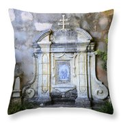Mission San Carlos Borromeo De Carmelo  10 Throw Pillow