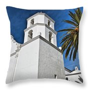Mission San Luis Rey IIi Throw Pillow