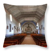 Mission Santa Ines 3 Throw Pillow