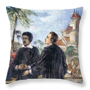 Missionaries: Baptism Throw Pillow