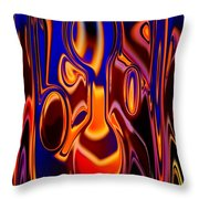 Mister Brain Throw Pillow