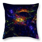 Misterious Universe Throw Pillow