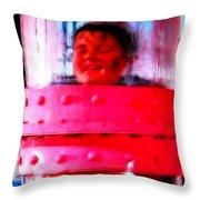 Mistical Augustus Throw Pillow by Paul Van Scott