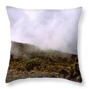 Misty Hills Throw Pillow