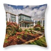 Mitchell Cancer Center Throw Pillow