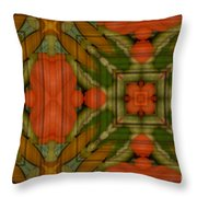 Mixed Veggies Throw Pillow