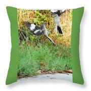 Mockingbird Fight Club Throw Pillow