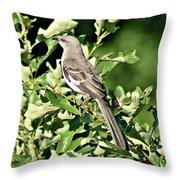 Mockingbird I Throw Pillow