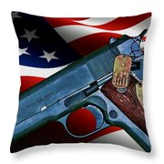 Model 1911-a1 Throw Pillow