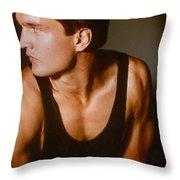 Model Robert Sorensen No. 15 Throw Pillow
