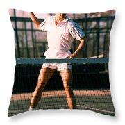Model Robert Sorensen No. 21 Throw Pillow