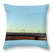 Modern Blinding Power B Throw Pillow