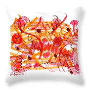 Modern Drawing 105 Throw Pillow