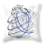 Modern Drawing 111 Throw Pillow