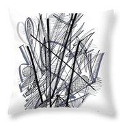 Modern Drawing 112 Throw Pillow