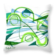 Modern Drawing Ninety-one Throw Pillow
