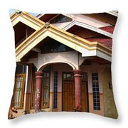 Modern Minehasa Home 1 Throw Pillow