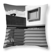 Modern Morrison Bw Palm Springs Throw Pillow