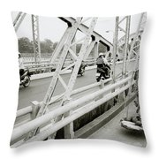 Modernity In Hue Throw Pillow