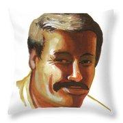 Mohammed Lakhdar Hamina Throw Pillow
