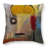 Mohawk Man Throw Pillow by Snake Jagger