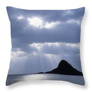 Mokolii Island Throw Pillow