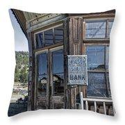 Molson Washington Ghost Town Bank Throw Pillow