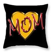 Mom 2 Throw Pillow