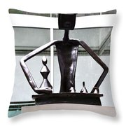 Moma 02 Throw Pillow