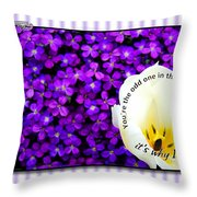Moms Day Humor Card Throw Pillow