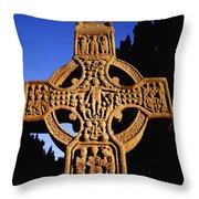 Monasterboice, Co. Louth Throw Pillow