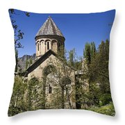 Monastery Of Ishan Throw Pillow