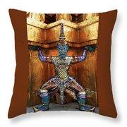Monkey God Throw Pillow