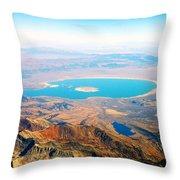 Mono Lake - Planet Earth Throw Pillow